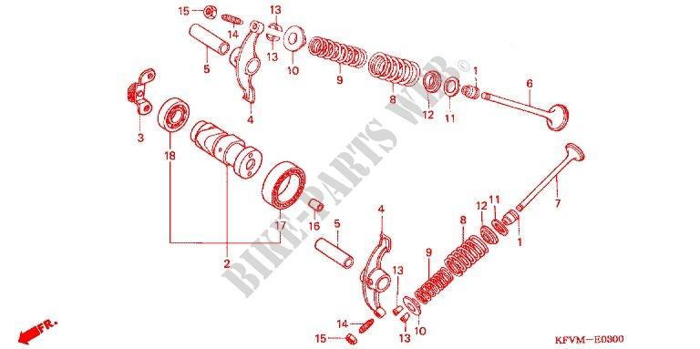 Camshaft For Honda Ex5 Dream 100  Kick Start 2013   Honda